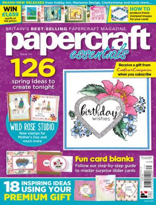 Papercraft Essentials ISSUE171
