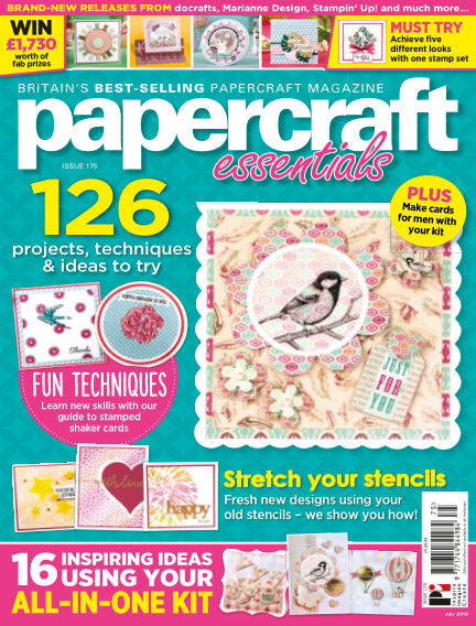 Papercraft Essentials June 13, 2019 00:00