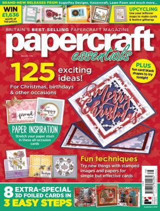 Papercraft Essentials ISSUE 178