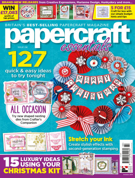 Papercraft Essentials October 10, 2019 00:00
