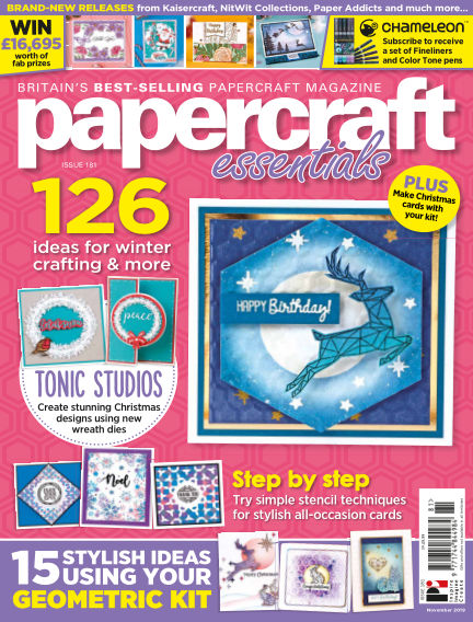 Papercraft Essentials November 07, 2019 00:00