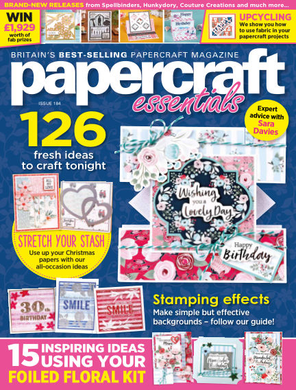 Papercraft Essentials January 30, 2020 00:00