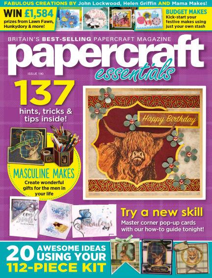 Papercraft Essentials September 03, 2020 00:00