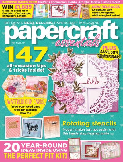 Papercraft Essentials December 24, 2020 00:00