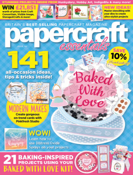 Papercraft Essentials March 18, 2021 00:00