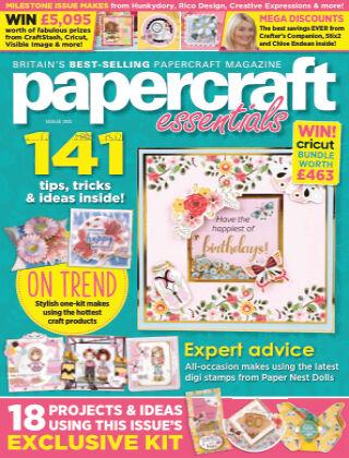 Papercraft Essentials ISSUE200