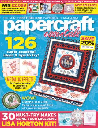 Papercraft Essentials ISSUE204