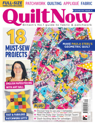 Quilt Now ISSUE71