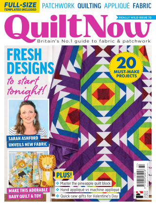 Quilt Now ISSUE72
