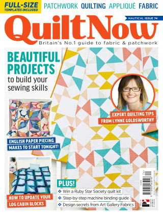 Quilt Now ISSUE74