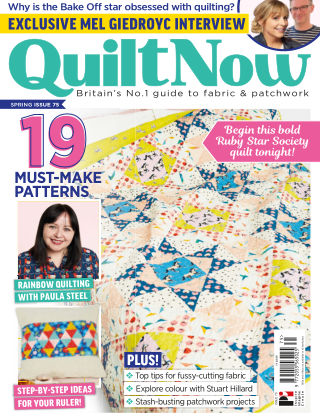 Quilt Now ISSUE75