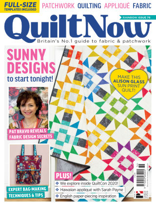 Quilt Now ISSUE76