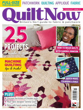 Quilt Now ISSUE77