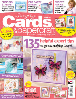 Simply Cards and Papercraft Issue 164
