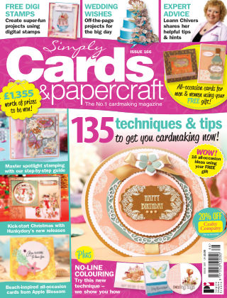 Simply Cards and Papercraft Issue 166