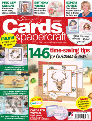 Simply Cards and Papercraft Issue 167