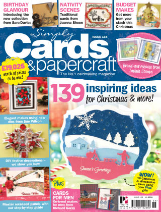 Simply Cards and Papercraft Issue 168