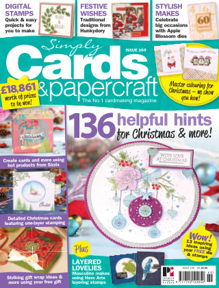 Simply Cards and Papercraft Issue 169