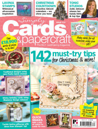 Simply Cards and Papercraft Issue 170