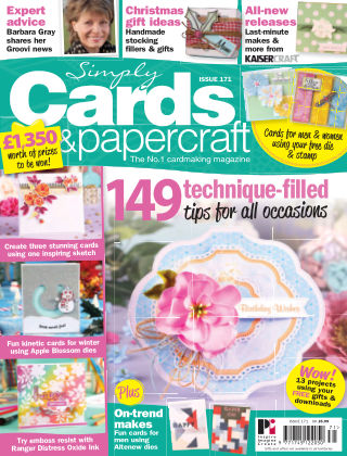 Simply Cards and Papercraft Issue 171