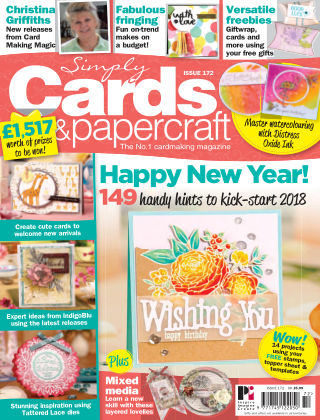 Simply Cards and Papercraft Issue 172