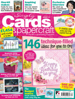 Simply Cards and Papercraft Issue 174