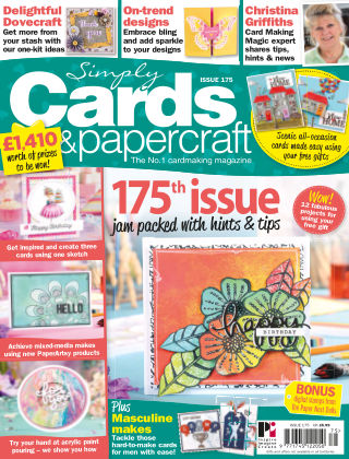 Simply Cards and Papercraft Issue 175