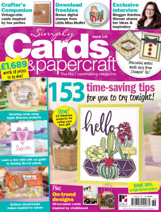 Simply Cards and Papercraft Issue 176