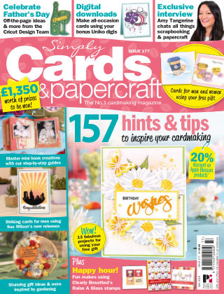 Simply Cards and Papercraft Issue 177