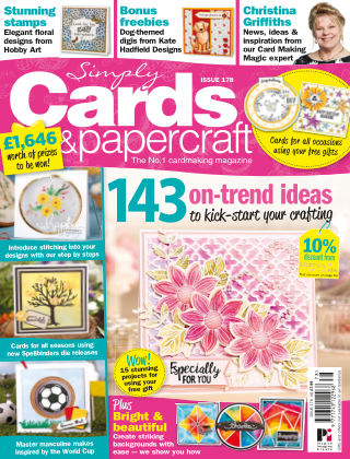 Simply Cards and Papercraft Issue 178