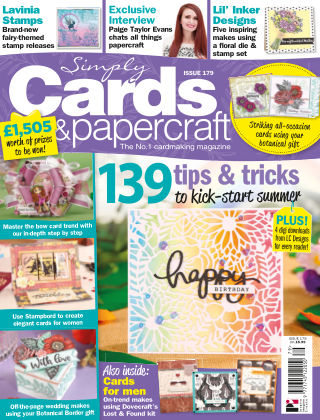 Simply Cards and Papercraft Issue 179