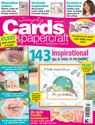 Simply Cards and Papercraft ISSUE180