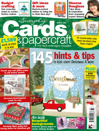 Simply Cards and Papercraft ISSUE181