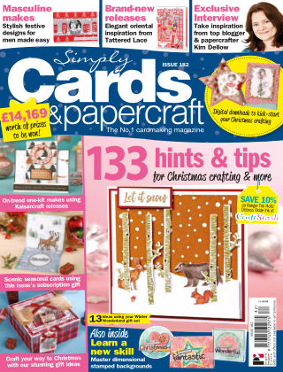 Simply Cards and Papercraft ISSUE182