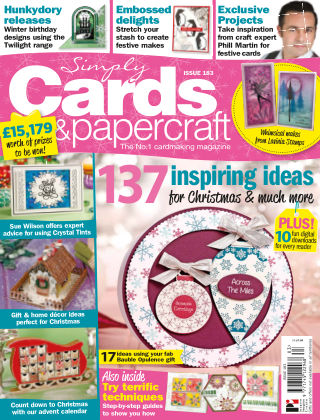 Simply Cards and Papercraft ISSUE183