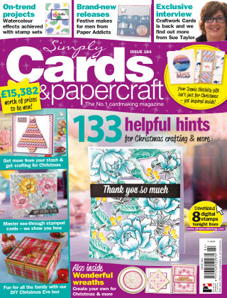 Simply Cards and Papercraft 184