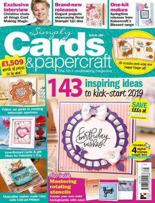 Simply Cards and Papercraft ISSUE186