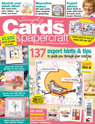 Simply Cards and Papercraft ISSUE187