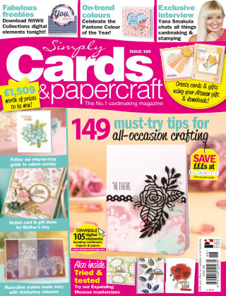 Simply Cards and Papercraft ISSUE188