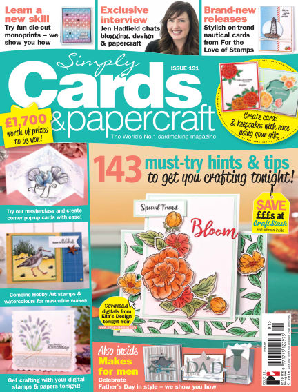 Simply Cards and Papercraft May 02, 2019 00:00