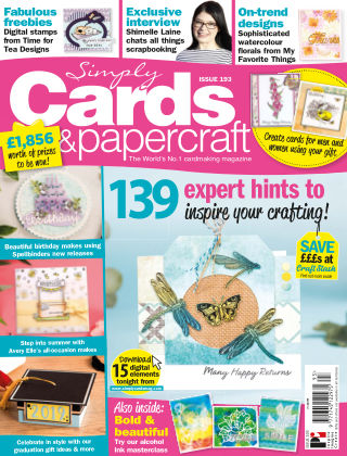 Simply Cards and Papercraft ISSUE193