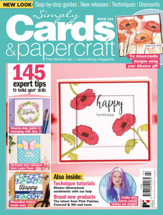 Simply Cards and Papercraft ISSUE194
