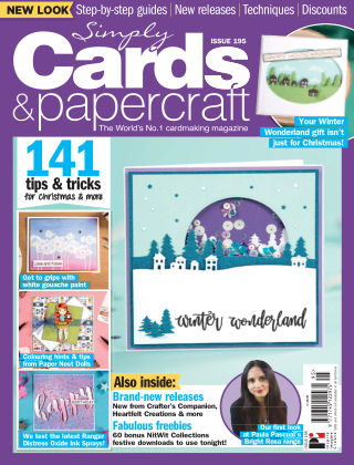 Simply Cards and Papercraft ISSUE195