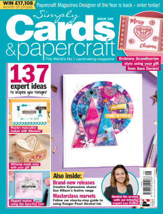 Simply Cards and Papercraft ISSUE196
