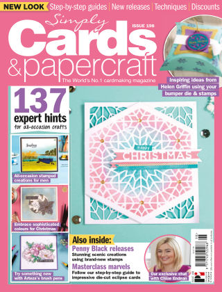 Simply Cards and Papercraft ISSUE198