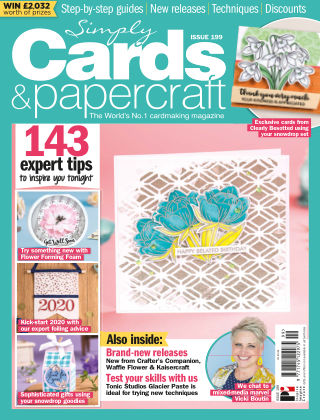 Simply Cards and Papercraft ISSUE199