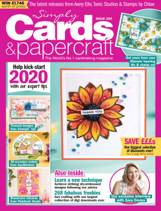 Simply Cards and Papercraft ISSUE200
