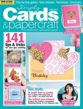 Simply Cards and Papercraft ISSUE201