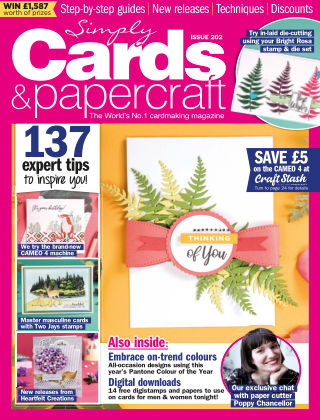 Simply Cards and Papercraft ISSUE202