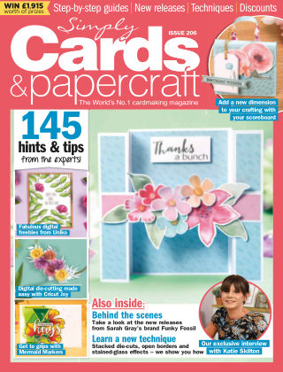 Simply Cards and Papercraft ISSUE206